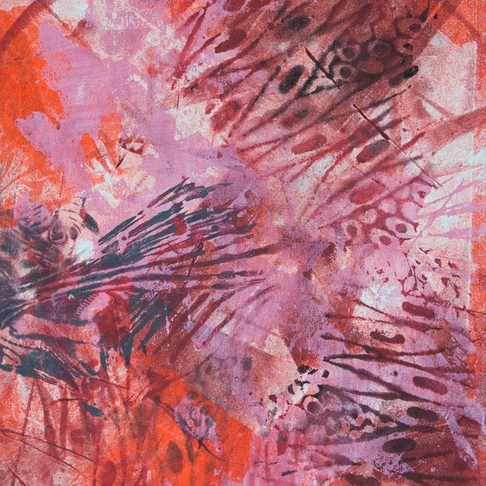 Printmaking artwork detail