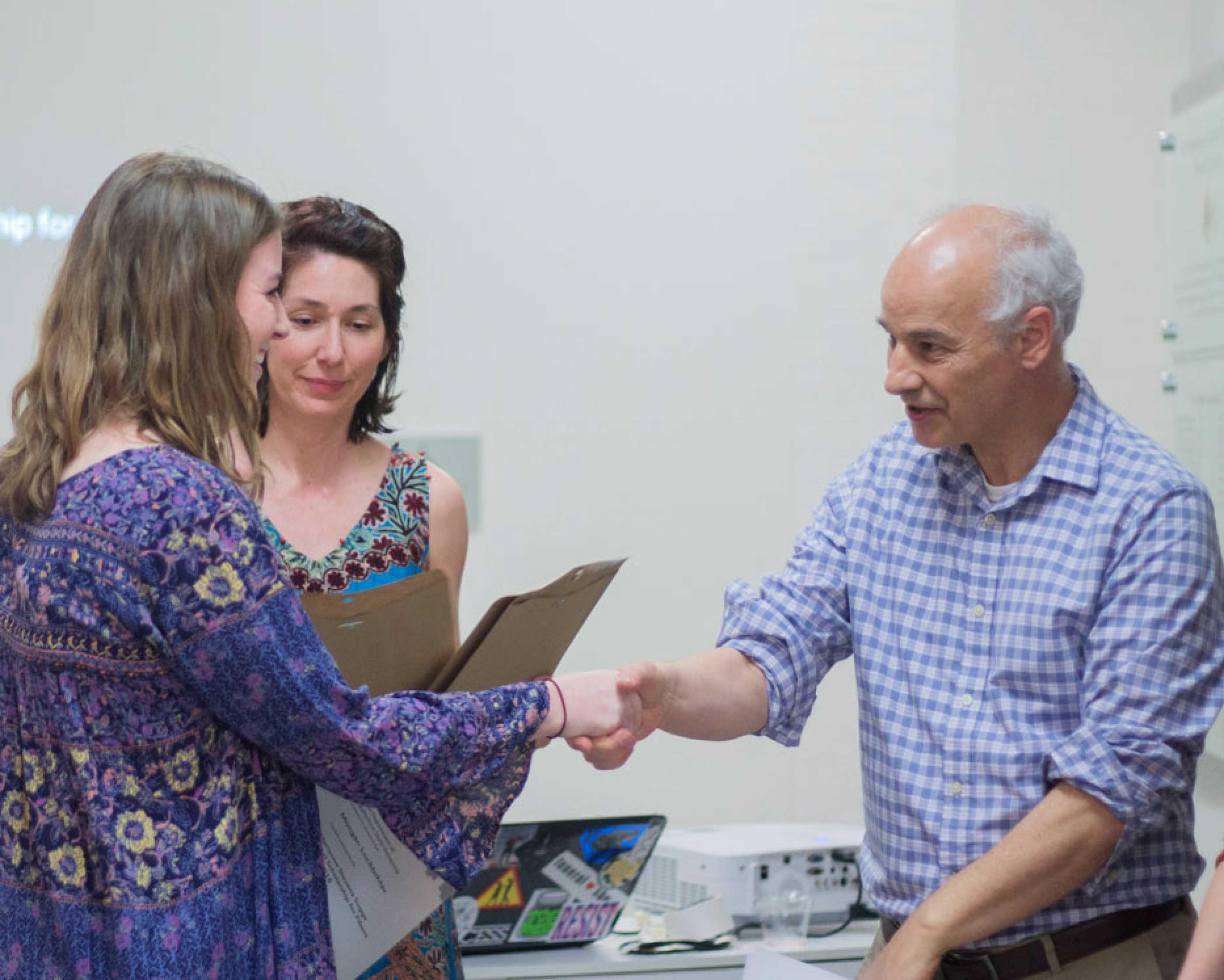 Student receives award at Art Expo