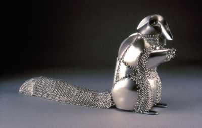 Roadkill Armor for a Squirrel