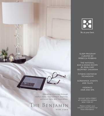 The Benjamin Hotel Add