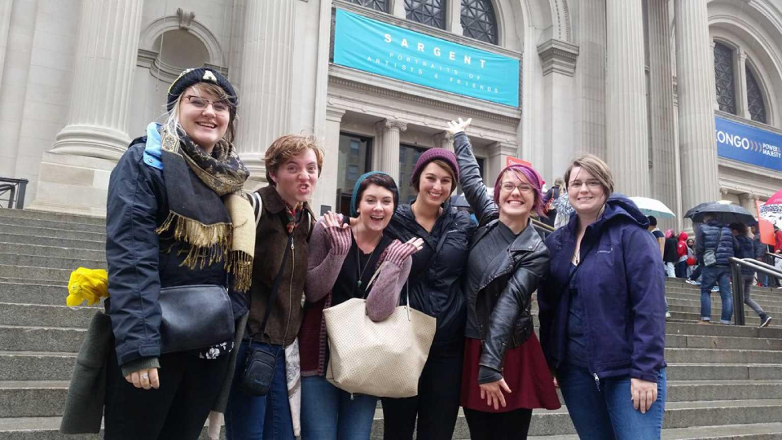 Art History trip to New York
