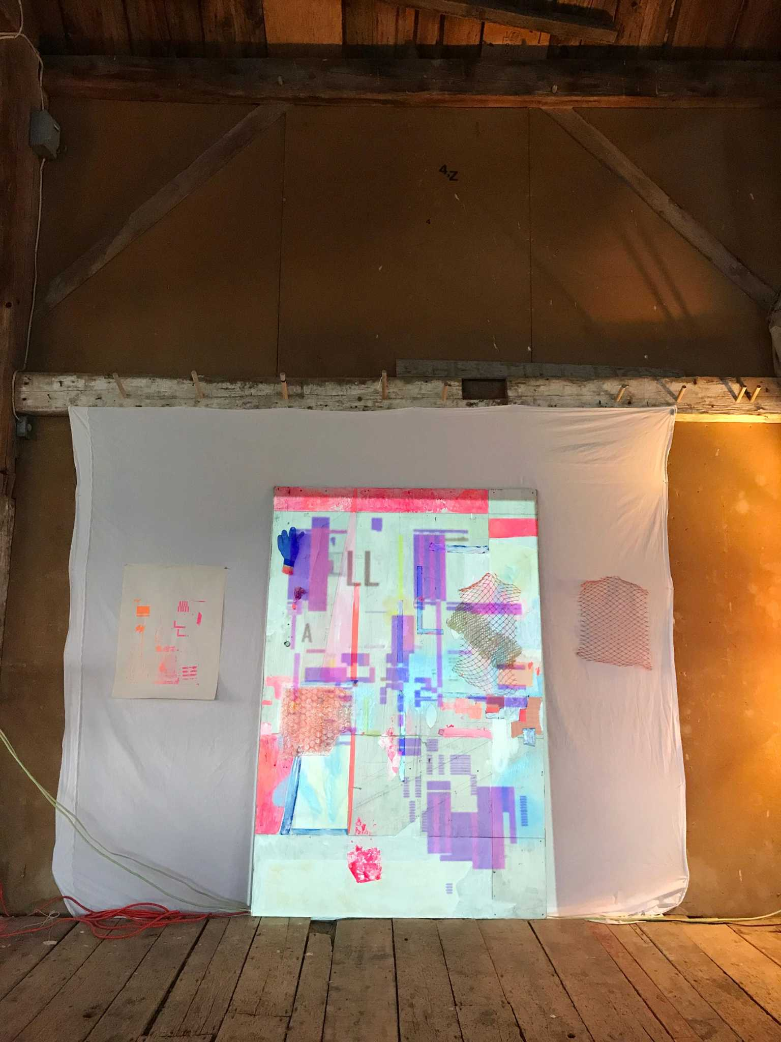 Design Inquiry, Vinalhaven / Collaborative Installation with Nida Abdullah