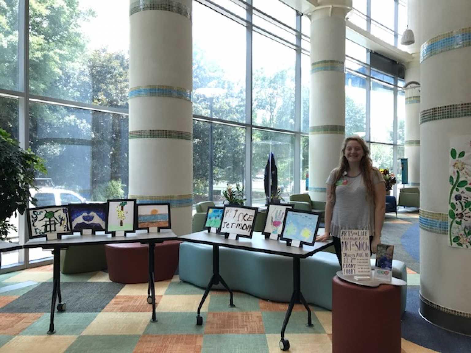 Sarah Robinson Arts for Life 2017