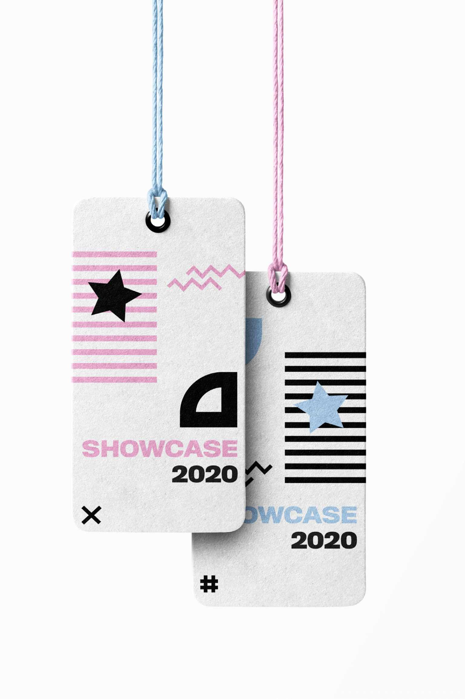 Showcase 2020 Clothing Tags