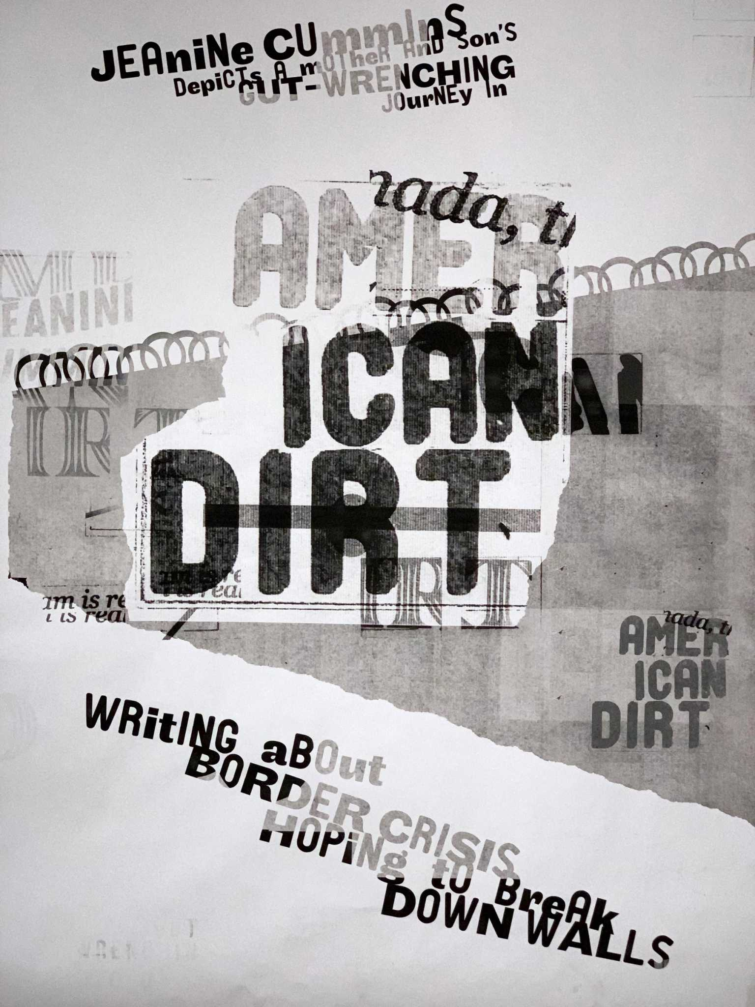 Experimental type poster